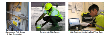 The procedure for estimating the in-place strength requires measuring the in-place maturity. This is achieved by installing sensors at locations in the structure that are critical in terms of exposure conditions and structural requirements. The importance of this step cannot be over emphasised when the strength estimates are being used for the timing the start of critical construction operations. The October 5th Doka UK published the second part of this analysis: Maturity Method of Measuring Concrete Strength