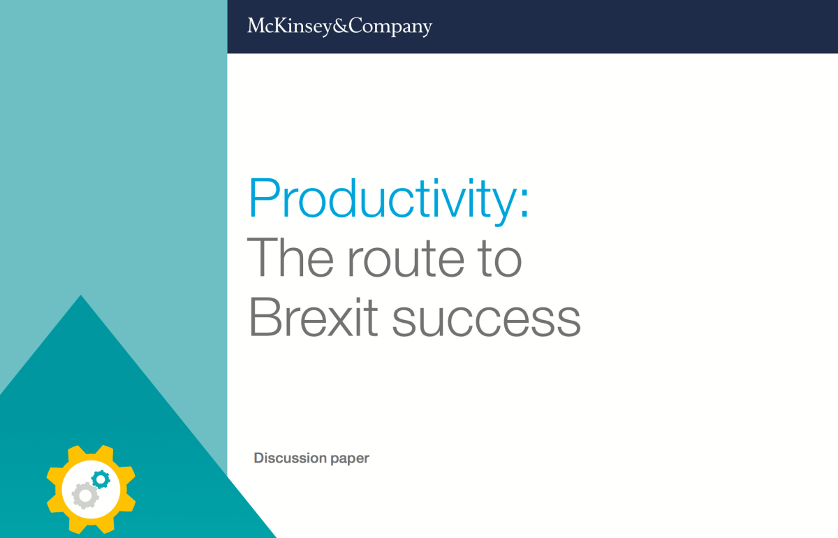 #Productivity: The Route to #Brexit Success (and Part Nº 2)