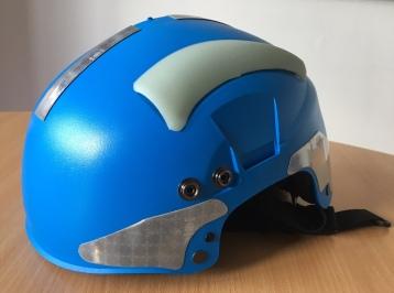 Blue-helmet-not-worn