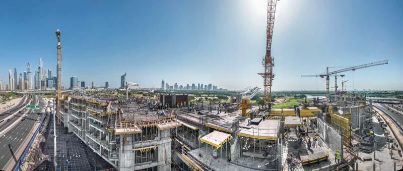 2017, and Doka is forming its 1,000th highrise