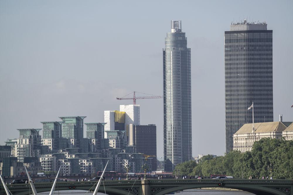 Construction makes up around 6 percent of British economic output Image 2