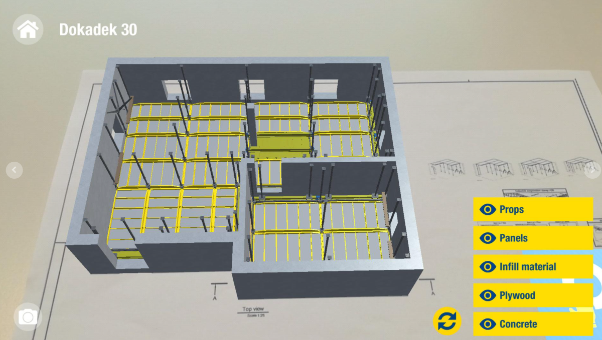 Doka at the technological forefront with APPs: Doka Augmented Reality and Doka Tools